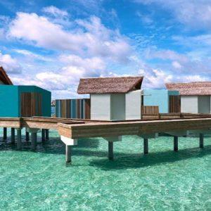 Platinum Overwater Pool Villa8 Hard Rock Hotel Maldives Maldives Honeymoons