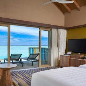 Platinum Overwater Villa (twin) Hard Rock Hotel Maldives Maldives Honeymoons