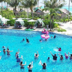 Pool Hard Rock Hotel Maldives Maldives Honeymoons