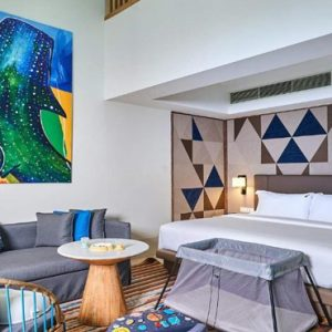 Silver Family Suite (Duplex)2 Hard Rock Hotel Maldives Maldives Honeymoons