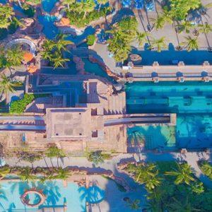 Aquaventure Overhead The Cove At Atlantis Bahamas Honeymoons