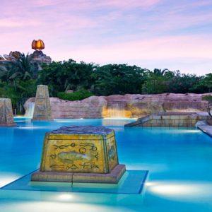 Baths Colonnade Pool The Cove At Atlantis Bahamas Honeymoons