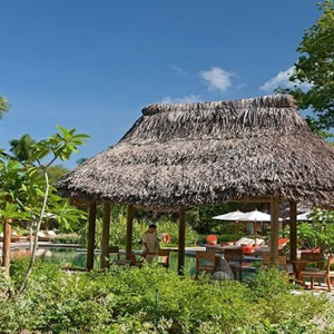 Constance Ephelia - Luxury Seychelles Honeymoon Packages - Adam and Eve restaurant and bar