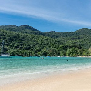 Constance Ephelia - Luxury Seychelles Honeymoon Packages - Beach view2