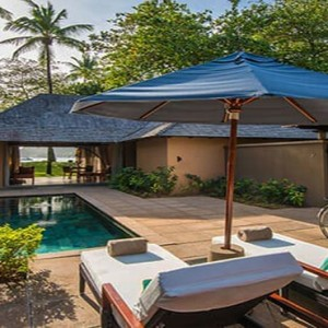 Constance Ephelia - Luxury Seychelles Honeymoon Packages - Beach villa exterior pool