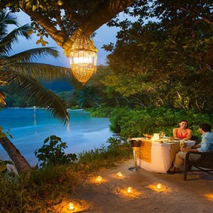 Constance Ephelia - Luxury Seychelles Honeymoon Packages - Cyann beach private dining