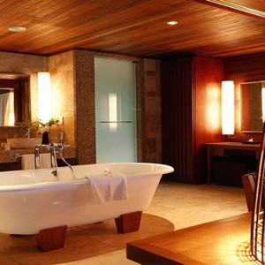 Constance Ephelia - Luxury Seychelles Honeymoon Packages - Hillside Villa bathroom