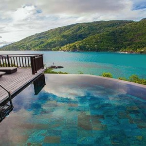 Constance Ephelia - Luxury Seychelles Honeymoon Packages - Hillside Villa pool view