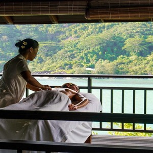Constance Ephelia - Luxury Seychelles Honeymoon Packages - Hillside Villa spa massage