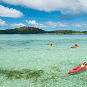 Constance Ephelia - Luxury Seychelles Honeymoon Packages - Kayaking1