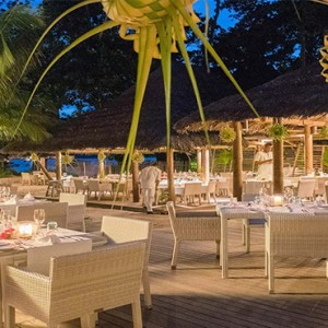 Constance Ephelia - Luxury Seychelles Honeymoon Packages - Seselwa restaurant and bar1