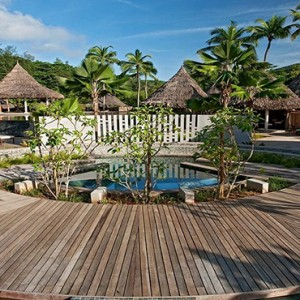 Constance Ephelia - Luxury Seychelles Honeymoon Packages - Spa village exterior