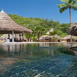 Constance Ephelia - Luxury Seychelles Honeymoon Packages - Spa village exterior pool