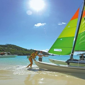 Constance Ephelia - Luxury Seychelles Honeymoon Packages - Windsurfing
