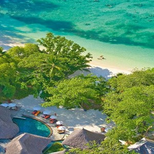 Constance Ephelia - Luxury Seychelles Honeymoon Packages - aerial view