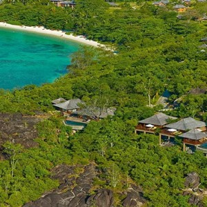 Constance Ephelia - Luxury Seychelles Honeymoon Packages - aerial view1