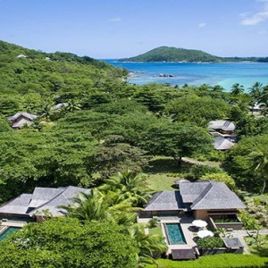 Constance Ephelia - Luxury Seychelles Honeymoon Packages - aerial view3