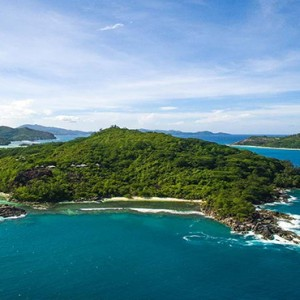 Constance Ephelia - Luxury Seychelles Honeymoon Packages - island aerial view