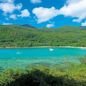 Constance Ephelia - Luxury Seychelles Honeymoon Packages - mountain aerial view