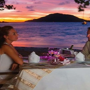 Constance Ephelia - Luxury Seychelles Honeymoon Packages - romantic dining