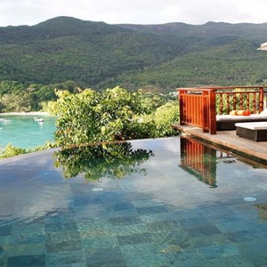 Constance Ephelia - Luxury Seychelles Honeymoon Packages - villa pool view