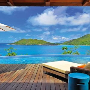 Constance Ephelia - Luxury Seychelles Honeymoon Packages - villa view