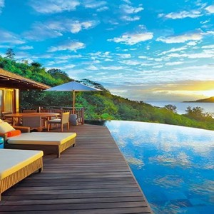 Constance Ephelia - Luxury Seychelles Honeymoon Packages - villa view1