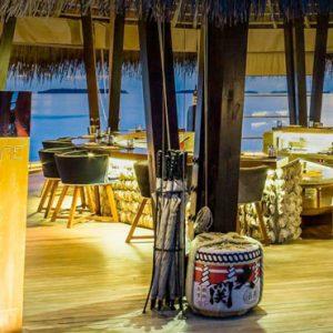 Maldives honeymoon Packages Anantara Kihavah Maldives Fire