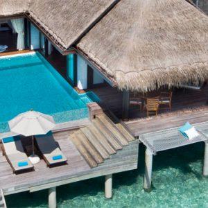 Maldives honeymoon Packages Anantara Kihavah Maldives Sunset Overwater Pool Villa