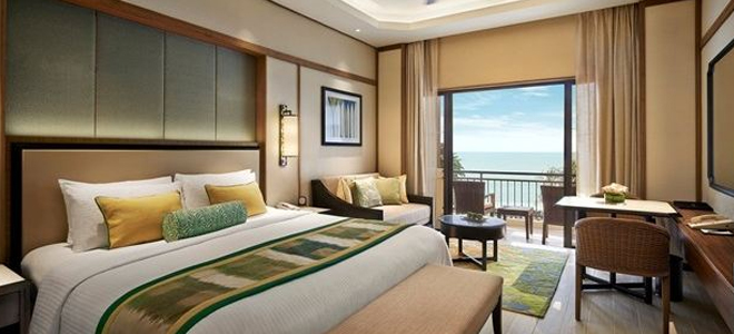 Shangri La Rasa Sayang -Garden Wing Deluxe Seaview Room