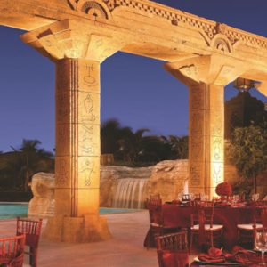 The Baths Colonnade The Cove At Atlantis Bahamas Honeymoons
