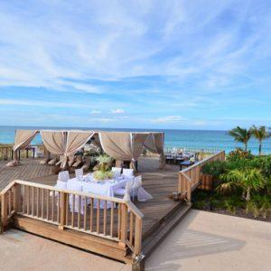 Wedding Reception The Cove At Atlantis Bahamas Honeymoons