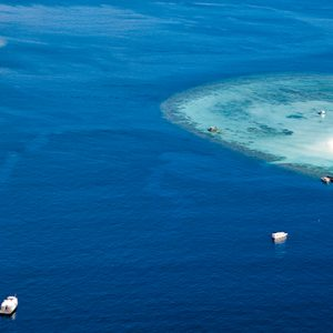 Areal View Banyan Tree Vabbinfaru Luxury Maldives Holidays
