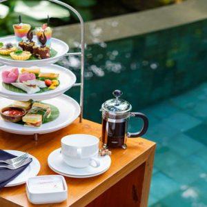 Bali Honeymoon Packages Kayumanis Ubud Afternoon Tea By The Pool