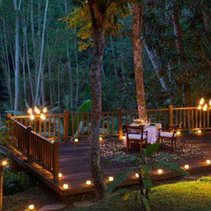 Bali Honeymoon Packages Kayumanis Ubud Dining Corner Outdoors
