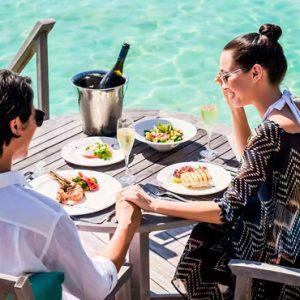 Maldives Honeymoon Packages Anantara Veli Maldives Resort In Villa Dining