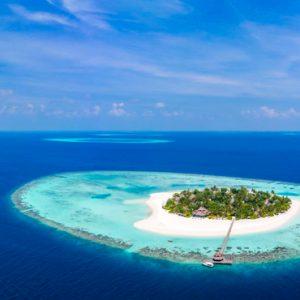 Maldives Honeymoon Packages Banyan Tree Vabbinfaru Aerial View
