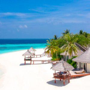 Maldives Honeymoon Packages Banyan Tree Vabbinfaru Room Exterior