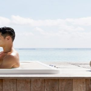 Maldives Honeymoon Packages Conrad Maldives Rangali Island Couple In Spa Whirlpool