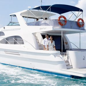 Maldives Honeymoon Packages Conrad Maldives Rangali Island Couple On Boat1