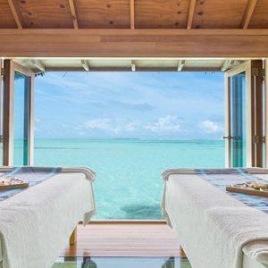 Maldives Honeymoon Packages Conrad Maldives Rangali Island Couple Treatment At Overwater Spa
