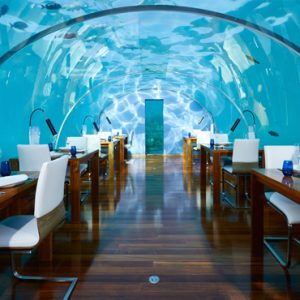 Maldives Honeymoon Packages Conrad Maldives Rangali Island Ithaa Undersea Restaurant