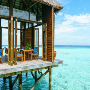 Maldives Honeymoon Packages Conrad Maldives Rangali Island Mandhoo Spa Restaurant