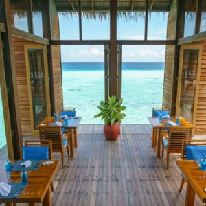 Maldives Honeymoon Packages Conrad Maldives Rangali Island Mandhoo Spa Restaurant1