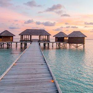 Maldives Honeymoon Packages Conrad Maldives Rangali Island Overwater Spa At Sunset