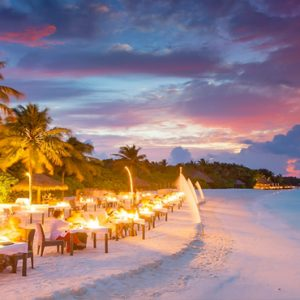 Maldives Honeymoon Packages Conrad Maldives Rangali Island Private Beach Dining2