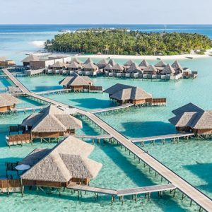 Maldives Honeymoon Packages Conrad Maldives Rangali Island The Retreat From Above