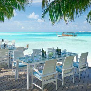 Maldives Honeymoon Packages Conrad Maldives Rangali Island Vilu Restaurant & Bar1