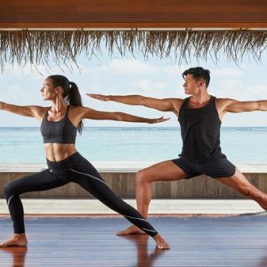 Maldives Honeymoon Packages Conrad Maldives Rangali Island Yoga