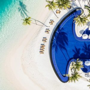 Maldives Honeymoon Packages Conrad Maldives Rangali Island Aerial View Of Pool